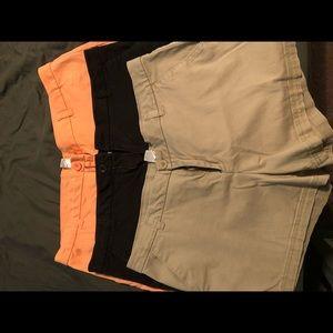 3 pair women's shorts